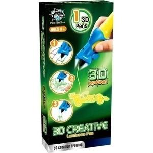 3D-ручка FITFUN TOYS детская, светящиеся чернила, цвет желтый (1CSC20003388)