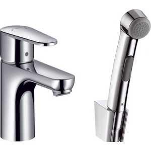 Смеситель для раковины Hansgrohe Talis 2 с гигиеническим душем (31165000) смеситель с душем недорого купить