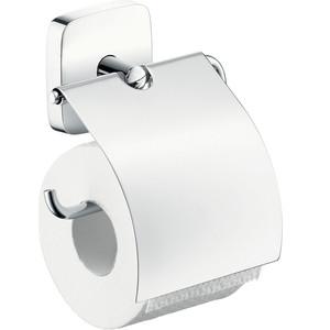 Держатель туалетной бумаги Hansgrohe PuraVida (41508000) держатель туалетной бумаги hansgrohe puravida для запасного рулона 41518000
