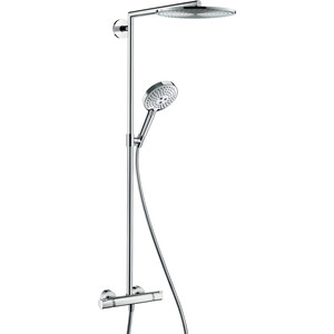 Душевой набор Hansgrohe Raindance select showerpipe 300 (27114000) душевой набор hansgrohe raindance select e300 3jet showerpipe с термостатом 27127400