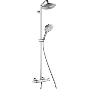Душевой набор Hansgrohe Raindance select showerpipe (27115000) душевой набор hansgrohe raindance select e300 3jet showerpipe с термостатом 27127400