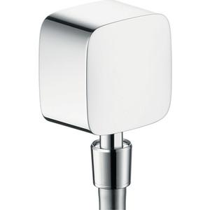 Шланговое соединение Hansgrohe PuraVida (27414000) держатель туалетной бумаги hansgrohe puravida для запасного рулона 41518000