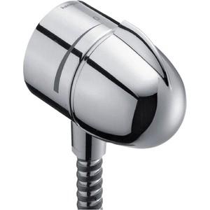 Подключение для душевого шланга Hansgrohe fixfit stop (27452000) с вентилем шланговое соединение hansgrohe fixfit s 27506000