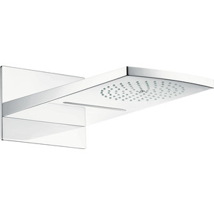 Верхний душ с кронштейном Hansgrohe Raindance Rainfall overhead shower 2jet (28433400) uythner square chrome rainfall shower head bathroom faucet w hand shower mixer tap wall mount