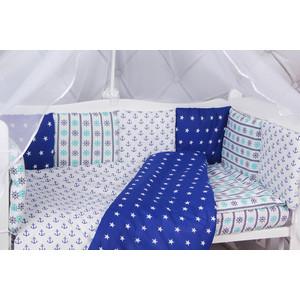Борт в кроватку AmaroBaby 12 предметов (12 подушек-бортиков) БРИЗ
