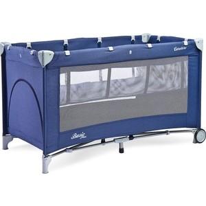 Манеж-кровать Caretero BASIC PLUS NAVY (синий)