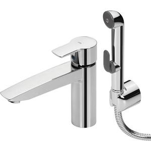 Смеситель для раковины Oras Cubista с гигиеническим душем (2806) смеситель с душем недорого купить