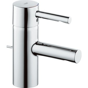 Смеситель для раковины Grohe Essence с донным клапаном (33562000) смеситель для раковины grohe eurocube 2312700e с донным клапаном и ограничением расхода воды