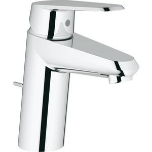 Смеситель для раковины Grohe Eurodisc cosmopolitan с донным клапаном (33190002) grohe eurodisc cosmopolitan 19574002 на борт ванны