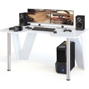 Компьютерный стол СОКОЛ КСТ-116 белый