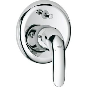 Фотография товара смеситель для ванны Grohe Euroeco встраиваемый включает встроенный механизм (32747000) (90066)