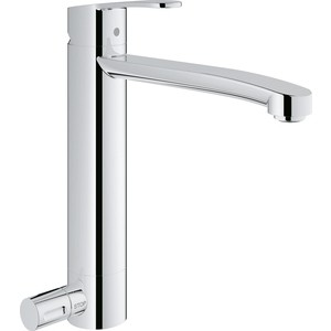 Grohe Eurostyle cosmopolitan с запорным вентилем (31153002)