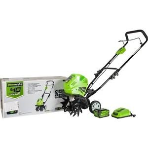 Культиватор GreenWorks G40TLK6 (27087UF)