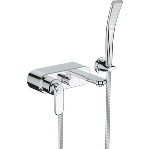 Фотография товара смеситель для ванны Grohe Veris с душевым гарнитуром (32196000) (90273)