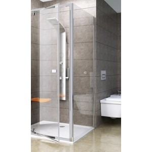 Душевая стенка Ravak Pivot PPS 90x190 см, стекло прозрачное, профиль хром (90G70C00Z1)