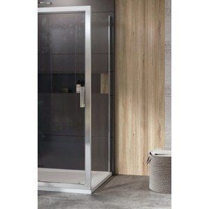 Боковая стенка Ravak 10 10PS 80x190 см, стекло прозрачное, профиль белый (9UV40100Z1)