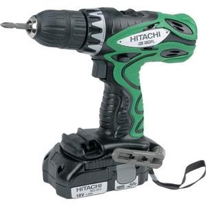 Аккумуляторная дрель-шуруповерт Hitachi DS18DFL электроинструмент hitachi ds18dfl