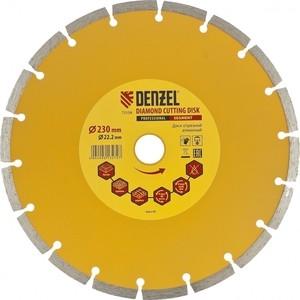 Диск алмазный DENZEL 230x22 2 мм (73104)