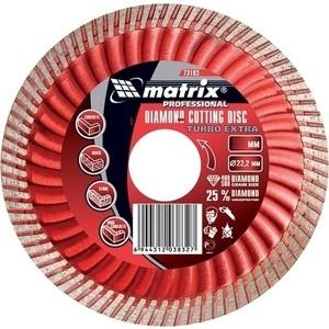 Диск алмазный Matrix Turbo Extra 180x22 2 мм (73196)