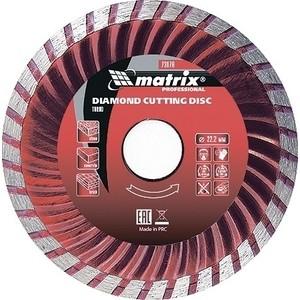 Диск алмазный Matrix Turbo 200x22 2 мм (73182)