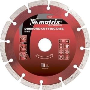 Диск алмазный Matrix 230x22 2 мм (73177)