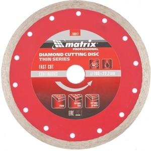 Диск алмазный Matrix 180х22 2 мм (730817)