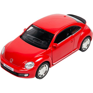 Машина металлическая PIT STOP Volkswagen New Beetle 1:32, инерционная