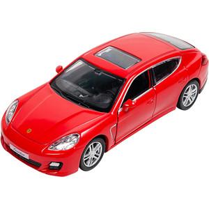 Машина металлическая PIT STOP Porsche Panamera Turbo красная 1:32, инерционная