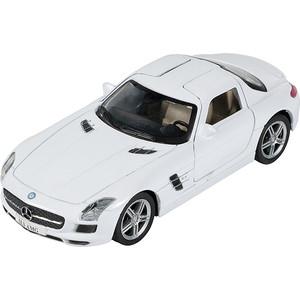 Машина металлическая PIT STOP Mercedes-Benz SLS AMG 1:41-1:32, инерционная