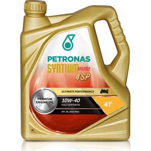 Моторное масло Petronas Syntium Moto 4 SP 10W-40 4л