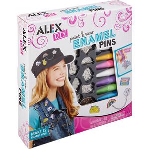 Набор для творчества Alex Сделай сам Разноцветные значки , от 8 лет