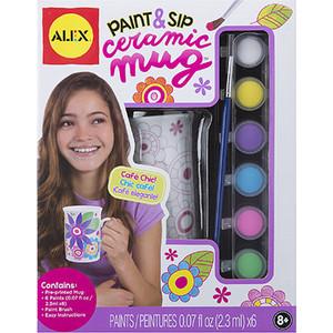 Набор для творчества Alex ''Распиши сувенир из фарфора'',6 пр, кисть, краски, от 8 лет