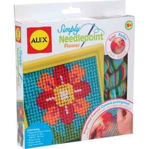 Набор для творчества Alex д/вышивания ''Цветок'' с пласт, тупой иглой, от 5 лет(10%)