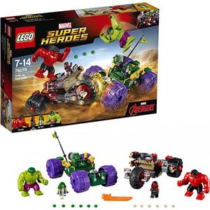 Конструктор Lego Супер Герои Халк против Красного Халка (76078)