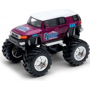 Игрушечная машинка Welly модель машины 1:38 Toyota FJ Cruiser Big Wheel Monster (47003S)