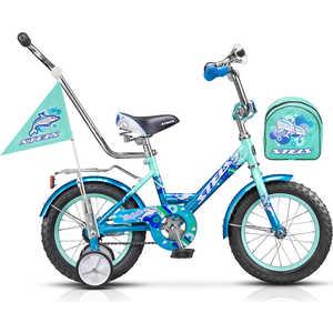 Детский велосипед Stels 12'' Dolphin с ручкой