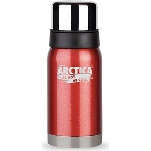 Фотография товара термос 0.5 л Арктика красный с узким горлом (американский дизайн) 106-500 (93286)