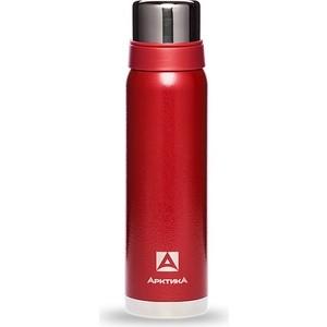 Термос Арктика красный с узким горлом (американский дизайн) 106-900