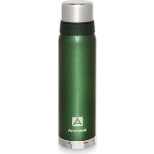 Термос 0.9 л Арктика зелёный с узким горлом (американский дизайн) 106-900