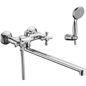 Смеситель для ванны Lemark Standard излив 350 мм с аксессуарами (LM2112C) смеситель для ванны smartsant инлайн излив 350 мм с аксессуарами sm103502aa