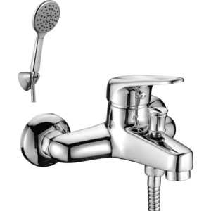 Смеситель для ванны Lemark Luna с аксессуарами (LM4102C) lemark смесительlemark luna lm4102c для ванны с душем