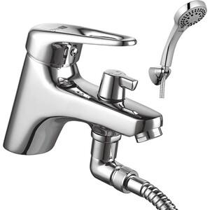 Смеситель для ванны Lemark Luna с аксессуарами (LM4115C) lemark смесительlemark luna lm4102c для ванны с душем