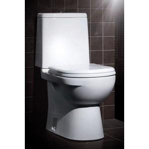 Унитаз компакт SANITA LUXE Next lux с сиденьем (SL900002) sanita luxe next серая приставная