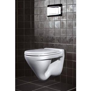 Унитаз SANITA LUXE Attica lux подвесной с сиденьем (700003) SLDM унитаз подвесной sanita luxe аттика