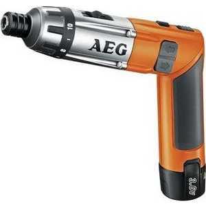 Аккумуляторная отвертка AEG SE 3.6 Li  аккумуляторная отвертка aeg se 3 6 li