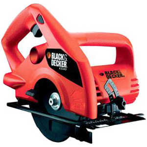 Пила дисковая Black-Decker KS 40