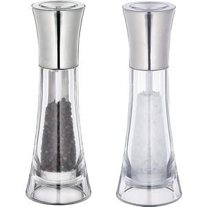 Набор мельниц для перца и соли Kuchenprofi Manhattan H 18 см 30 4418 38 00 weber набор мельниц для соли и перца черные