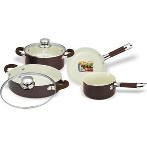 Набор посуды Vitesse VS-2222 набор посуды travola с антипригарным покрытием цвет красный 5 предметов