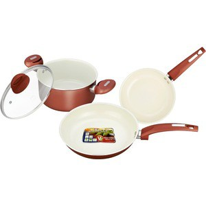 Набор посуды Vitesse VS-2216 набор посуды travola с антипригарным покрытием цвет красный 5 предметов