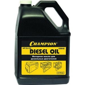 Масло дизельное Champion 4л 10W-40 (952820) моторное масло eneos ecostage 0w20 sn 4л синт